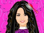 selena gomez cool hairstyle - celebrity
