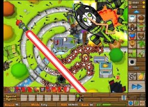 Black And Gold Games: Bloons Tower Defense 5 Best Strategy