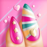 nail art game girls