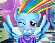 rainbow dash real haircuts - makeover