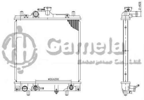 small resolution of geo metro engine diagram cooling fan wiring libraryradiator 6191926045 t gamela enterprise 6191926045 t geo metro
