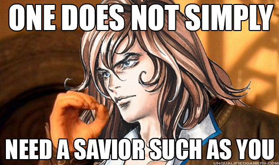 One does not simply Richter Belmont