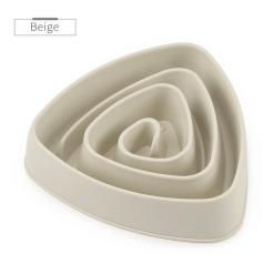 gamelle-anti-glouton-Triangulaire-beige