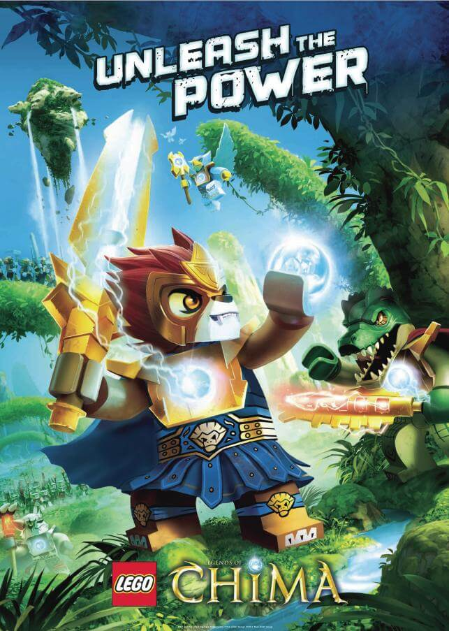 Warner Bros. Interactive The LEGO Group kündigen LEGO Legends of Chima an | gamelover news