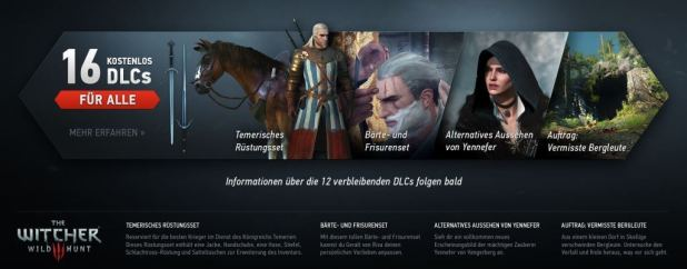 gamelover The Witcher 3 DLC