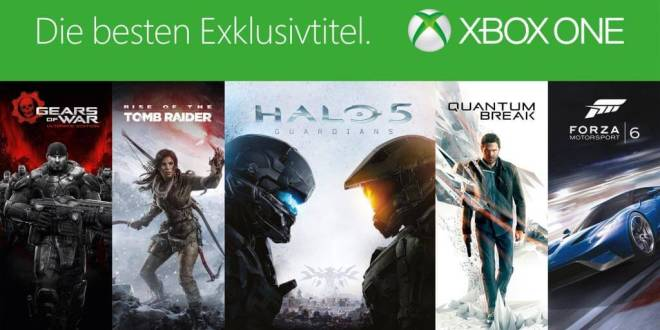 gamelover Xbox One Exklusivtitel
