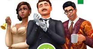 gamelover Die Sims 4 Vintage Glamour Accessoires Cover
