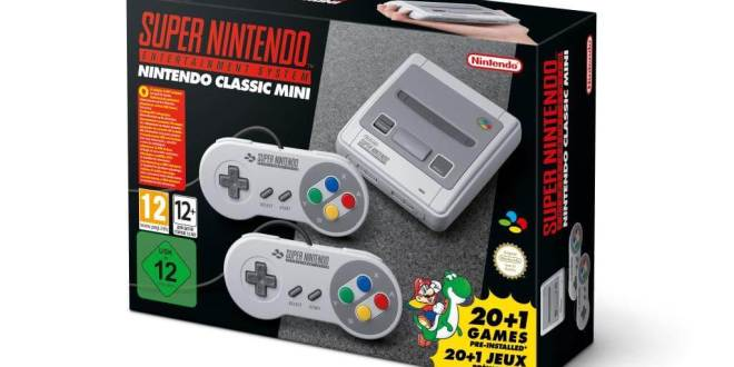 gamelover Nintendo Classic Mini Super Nintendo Entertainment System