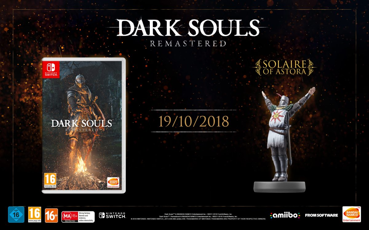 Release von DARK SOULS: REMASTERED für Nintendo Switch