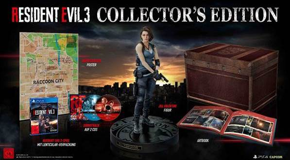 gamelover Resident Evil 3 Collectors Edition