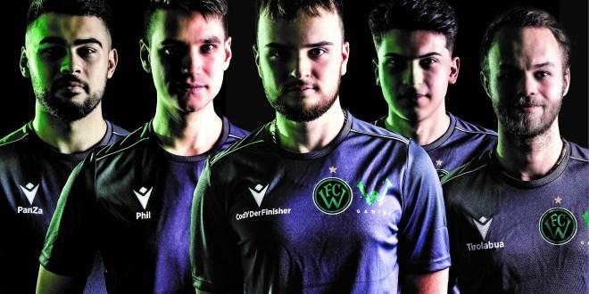 Wacker Gaming Mannschaftsbild