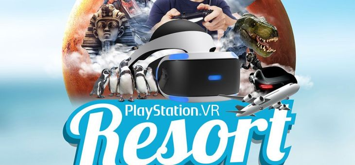 Visita al PlayStation VR Resort #ResortPSVR