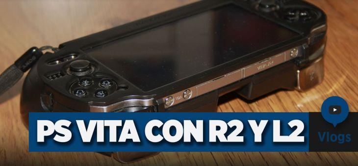 Carcasa PS Vita | PlayStation Vita con botones R2 y L2 | Vlog