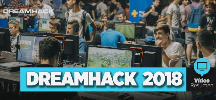 Visita a la Dreamhack 2018