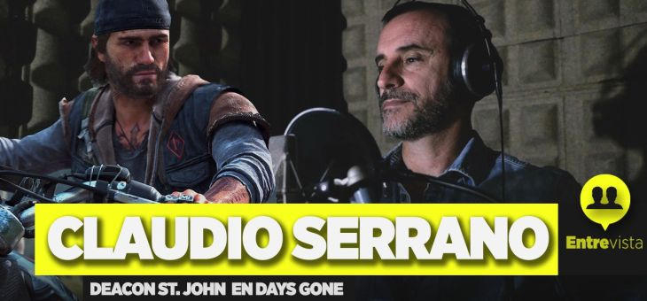Entrevista a Claudio Serrano, Deacon en Days Gone
