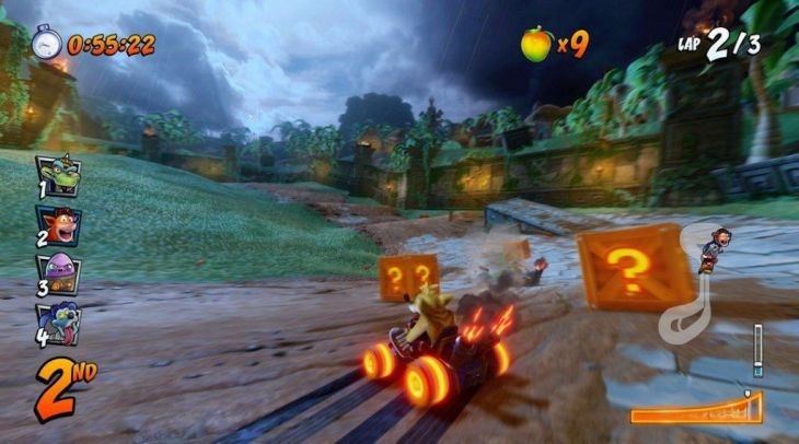Crash Team Racing Nitro Fueled derrape