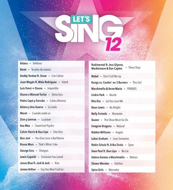 LS20 Setlist ESP