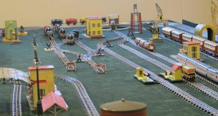 Trenes en Museo del Juguete de Ibi