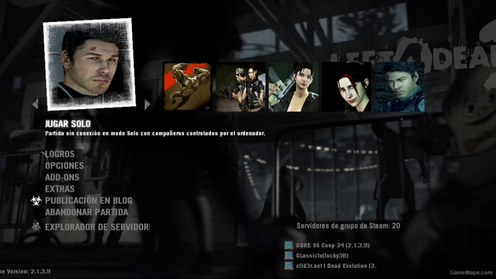 icon Ellis Y Zoey Left 4 Dead 2  GameMaps