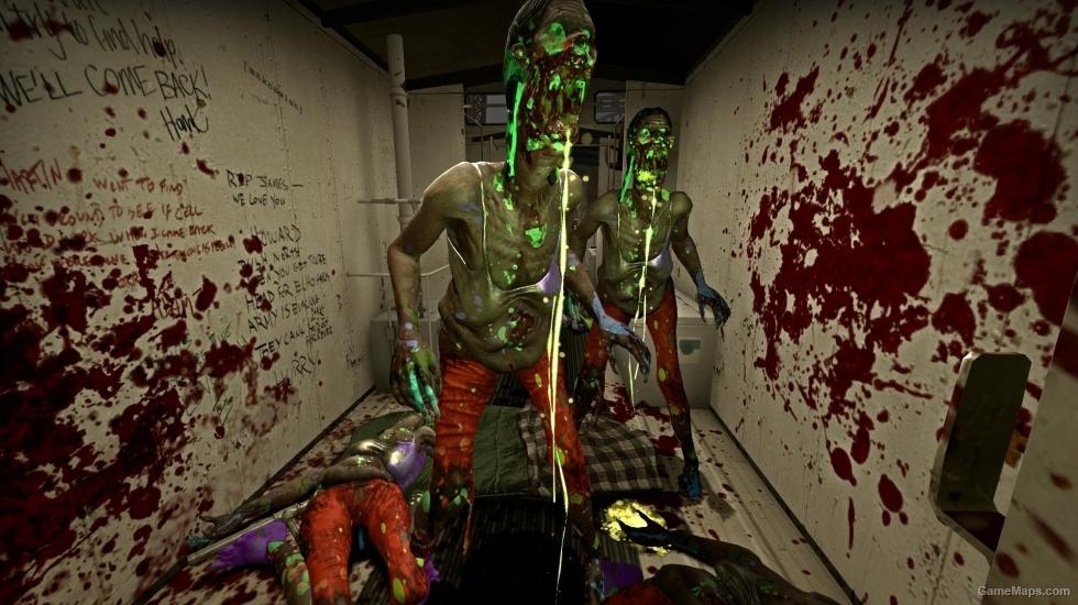 Paint Splatter Spitter Left 4 Dead 2 GameMaps