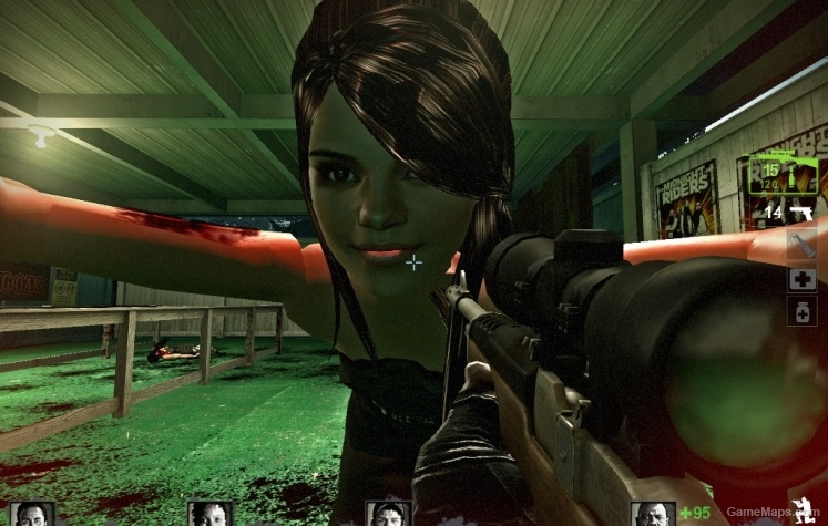 Selena Gomez Witch Left 4 Dead 2 GameMaps