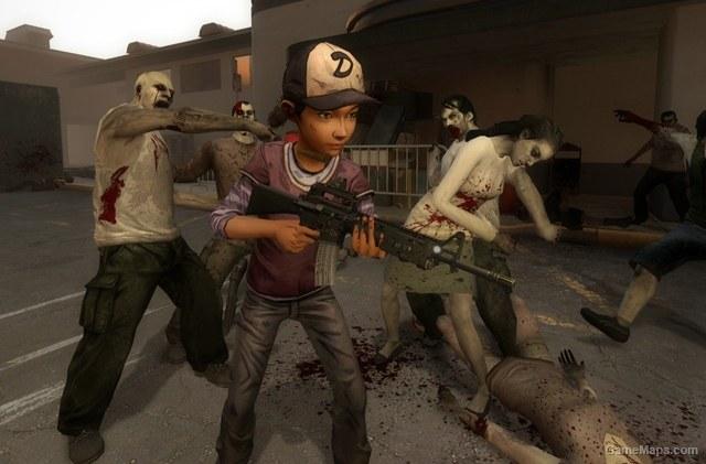 Clementine  The Walking Dead Left 4 Dead 2  GameMaps
