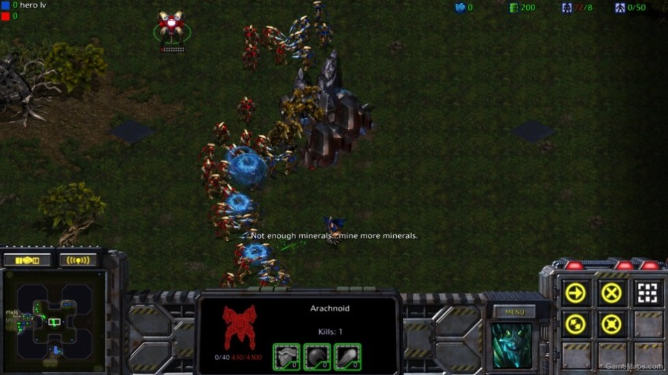 footmen frenzy iv starcraft