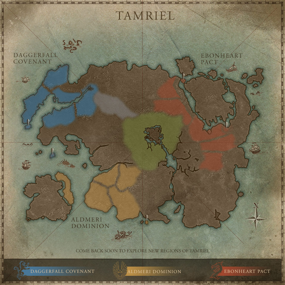 Daggerfall Skyrim Map Vs