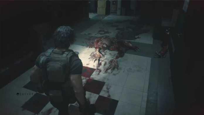 惡靈古堡3重製版 BOSS白色喪屍