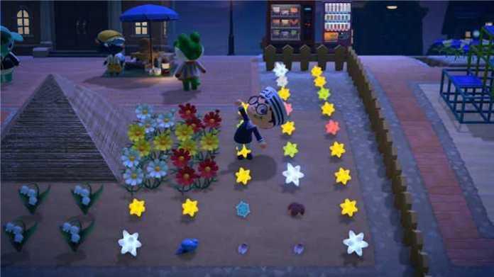動物森友會 流星許願方法 攻略 十二星座星星碎片獲取方式