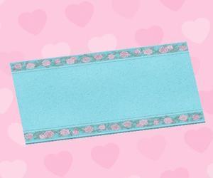 水藍色婚禮地毯