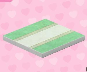 綠色婚禮地板