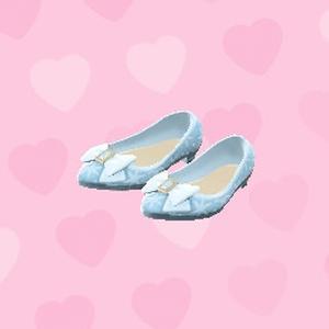純白淺口鞋