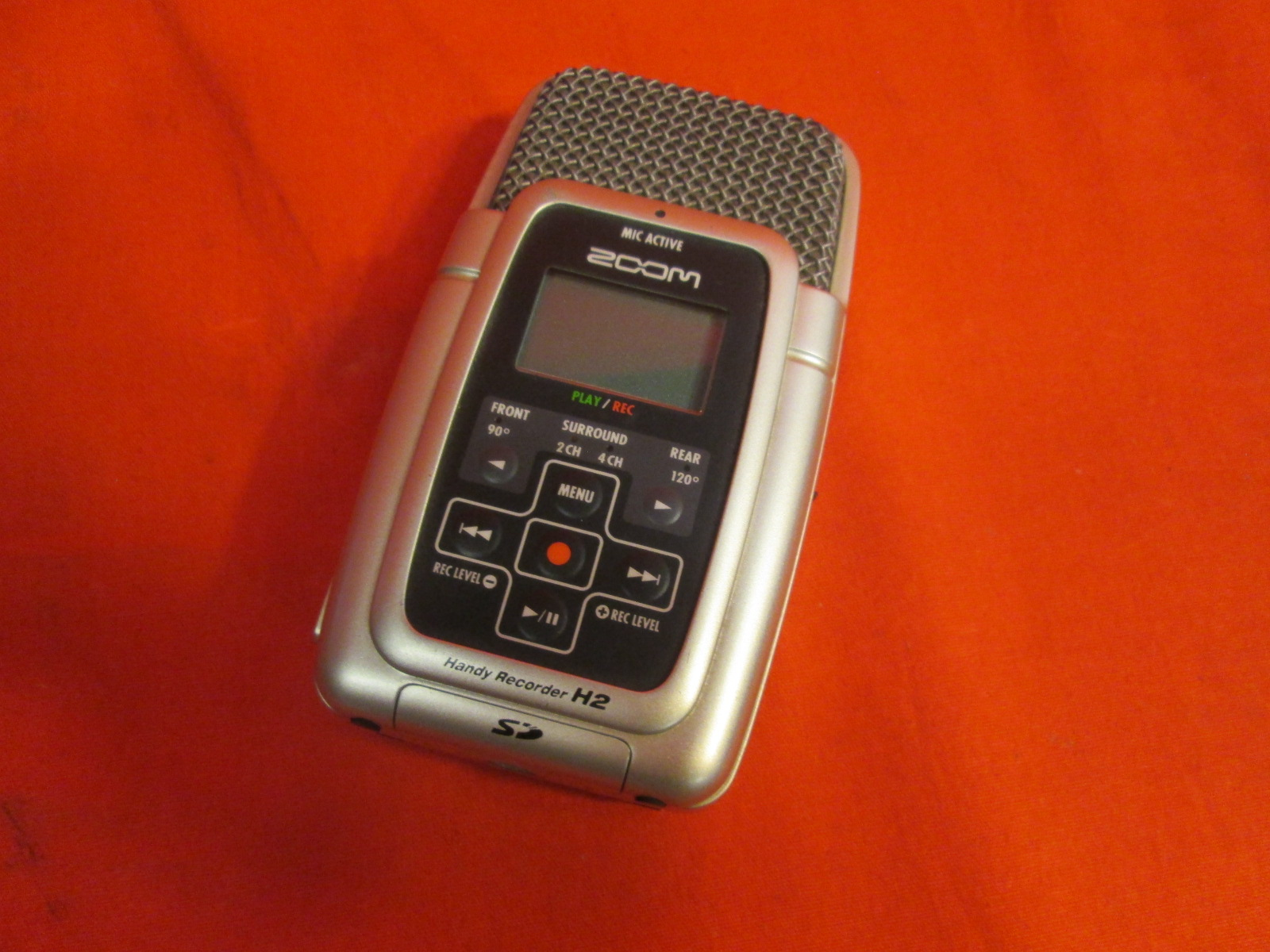 Zoom H2 Handy Portable Stereo Recorder