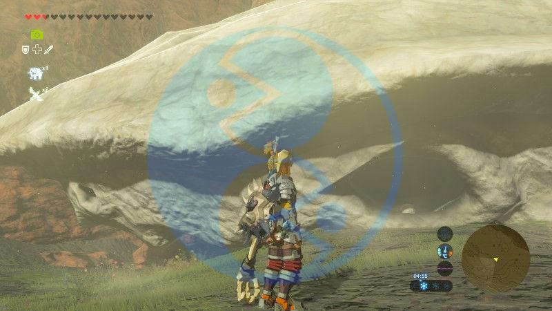 Zelda Breath of the Wild minisfida I Fossili di balena gigante Oldin 02 Nintendo Wii U Switch Gamempire