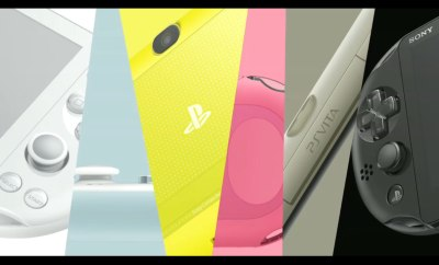 New PlayStation Vita hardware announced by Sony