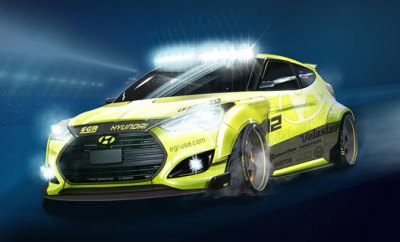 Hyundai SEMA Concept Car Is Called Yellowcake
