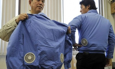 Jacket With Air-Conditioner From Japan