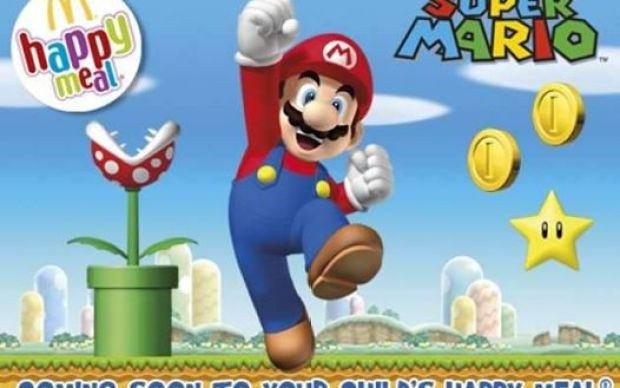 McDonald's in the UK will soon run a series of Super Mario happy meals.