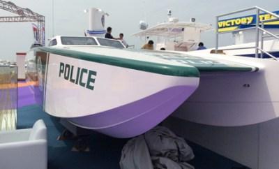 Dubai Police Got A Super-Sized Boat!