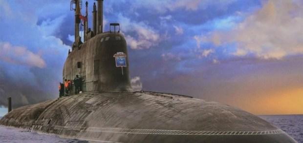New Russian Atomic Submarine
