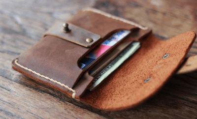 Treasure Chest Credit Card Wallet by JooJoobs