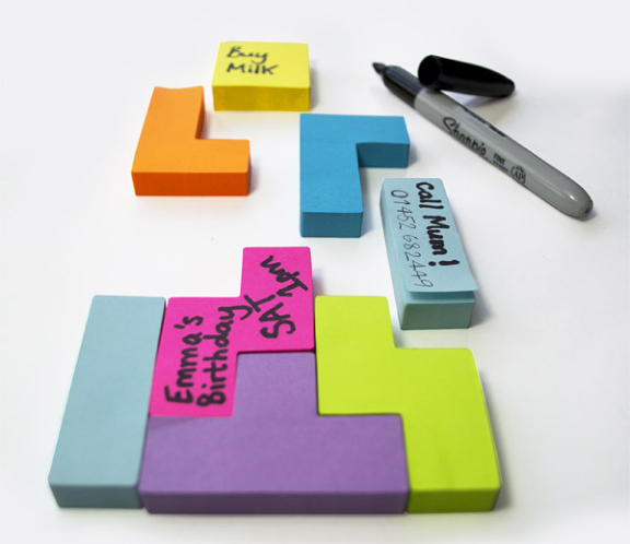Tetris Sticky Notes