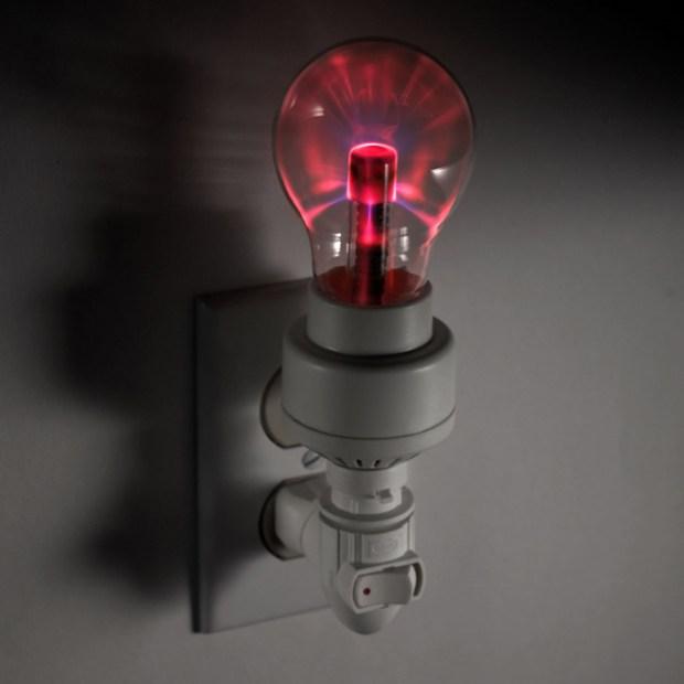New Technology In Night Light - Plasma Nightlight