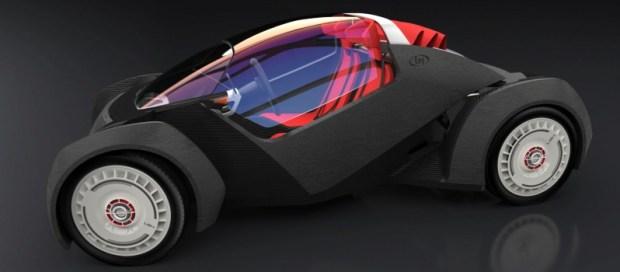 Strati - World's First 3D Printed Car