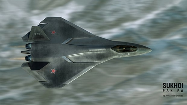 Sixth Generation Russian Unmanned Attack Jet