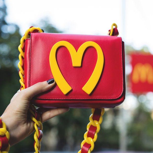 $730 Food Bag by Moschino!