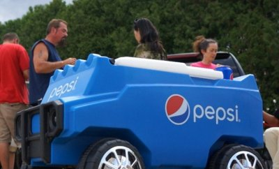 Pepsi Remote Controlled Cooler