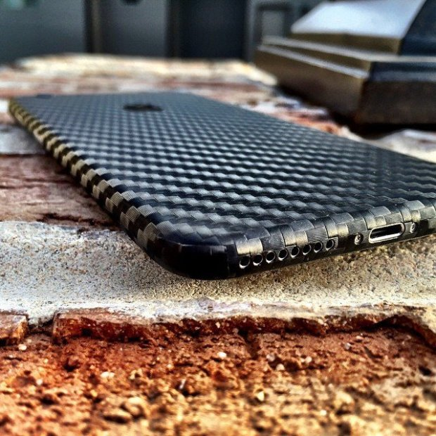 Carbon Fiber iPhone 6 Wrap