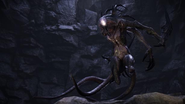 Evolve's Third Monster Wraith
